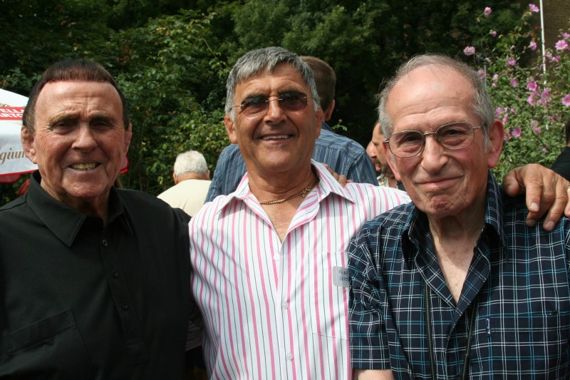 Mick McManus, Alan Sargeant, Joe D'Orazio