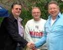 Ray Plunkett, Tony Hooper, Neil Sands