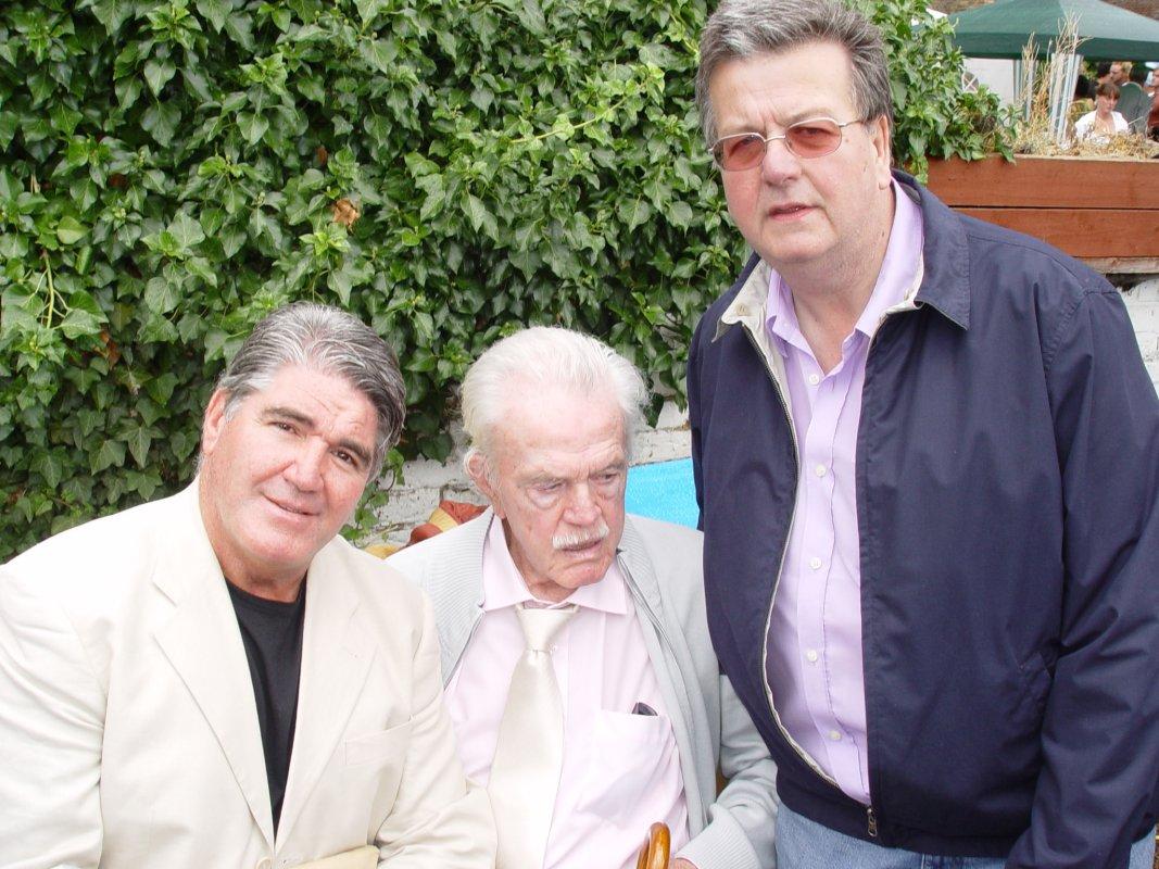 Mark Rocco, Jim Hussey, Ray Plunkett
