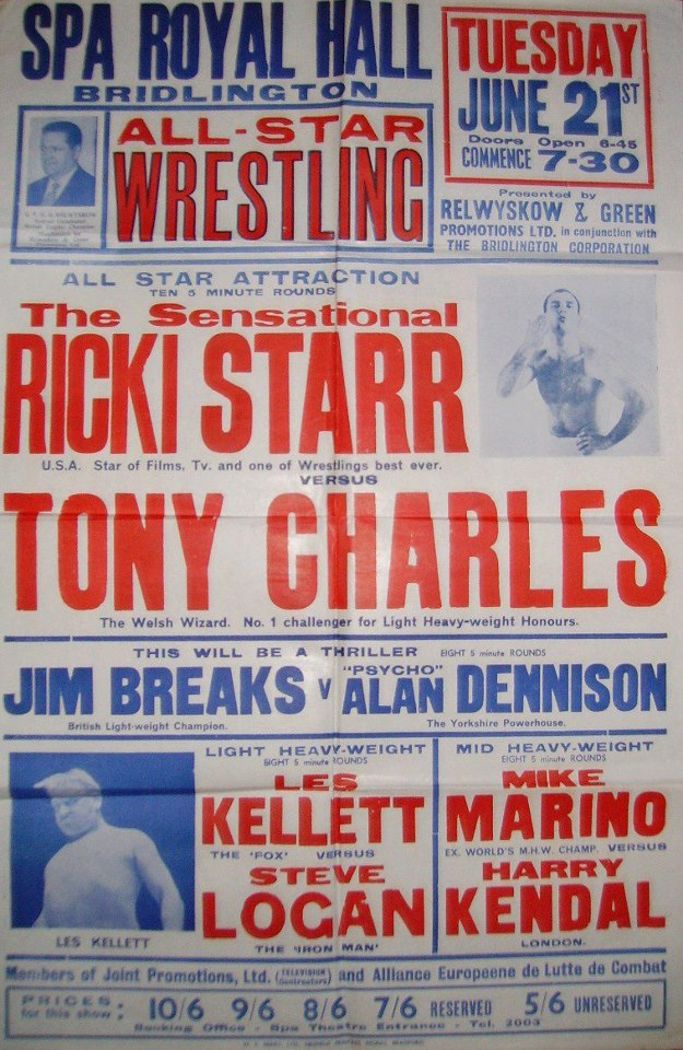British Wrestlers Reunion - Tony Charles