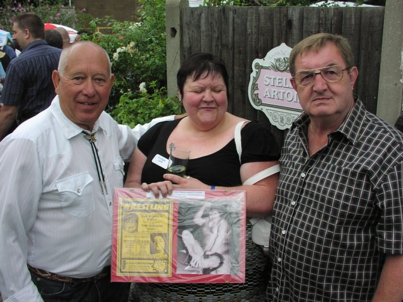 Billy La Rue, Klondyke Kate and Derek Collins