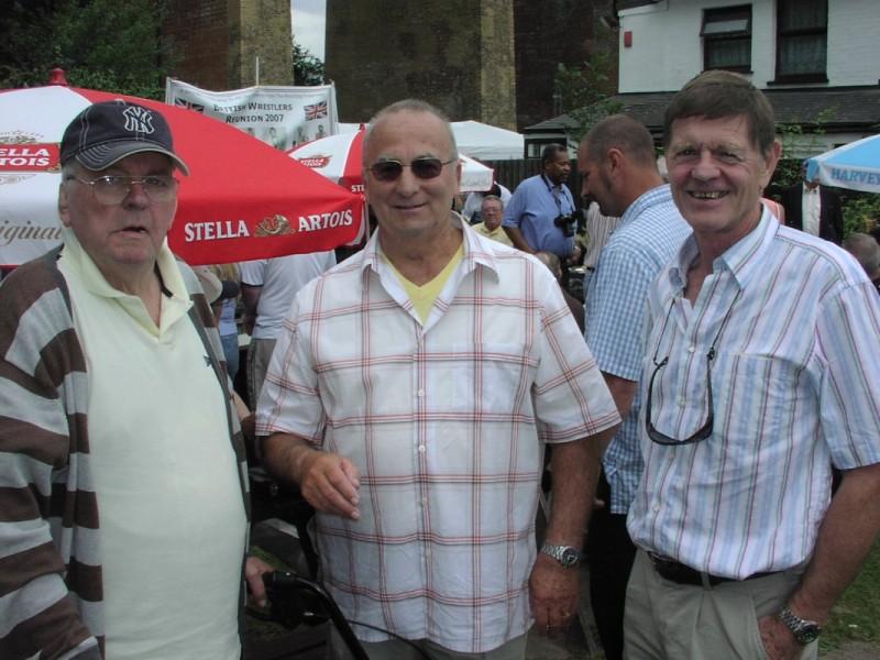Paul Lincoln, Bob Kirkwood, Bob Anthony