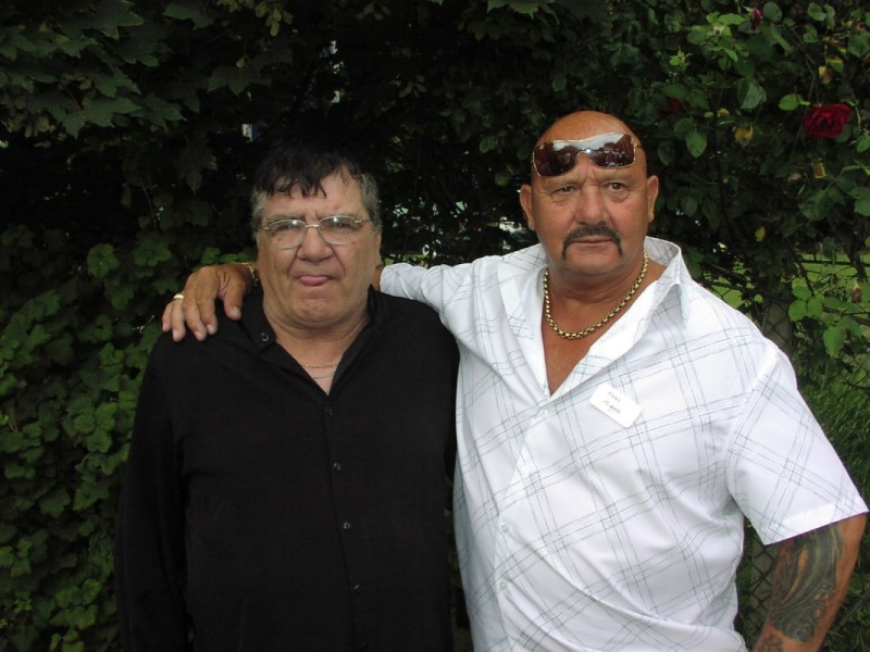 Mickey West and Karl 'Nobby' Heinz