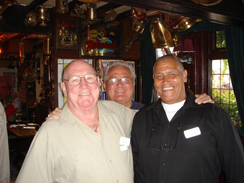 John Hurley, Colin Joynson and Johnny Kincaid