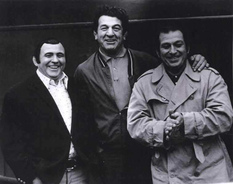 Mick McManus, Mike Marino and Joe D'Orazio