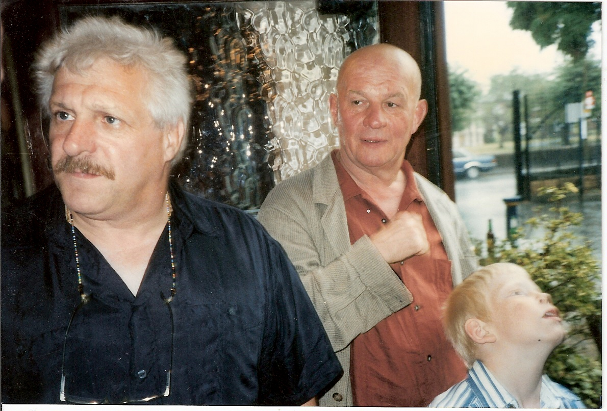 Ace Allcard and Brian Glover ( leon Arras)