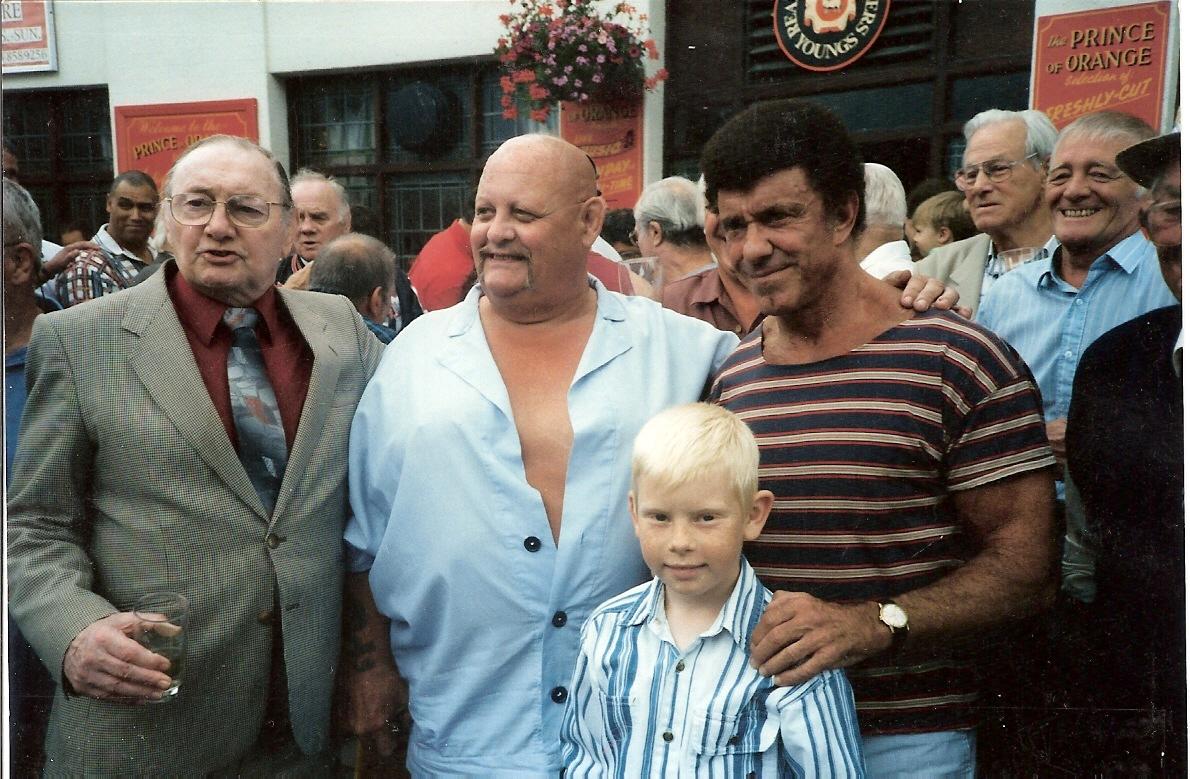 George Kidd, danny Lynch, Spencer Churchill, Billy Barber  Dave Phillips