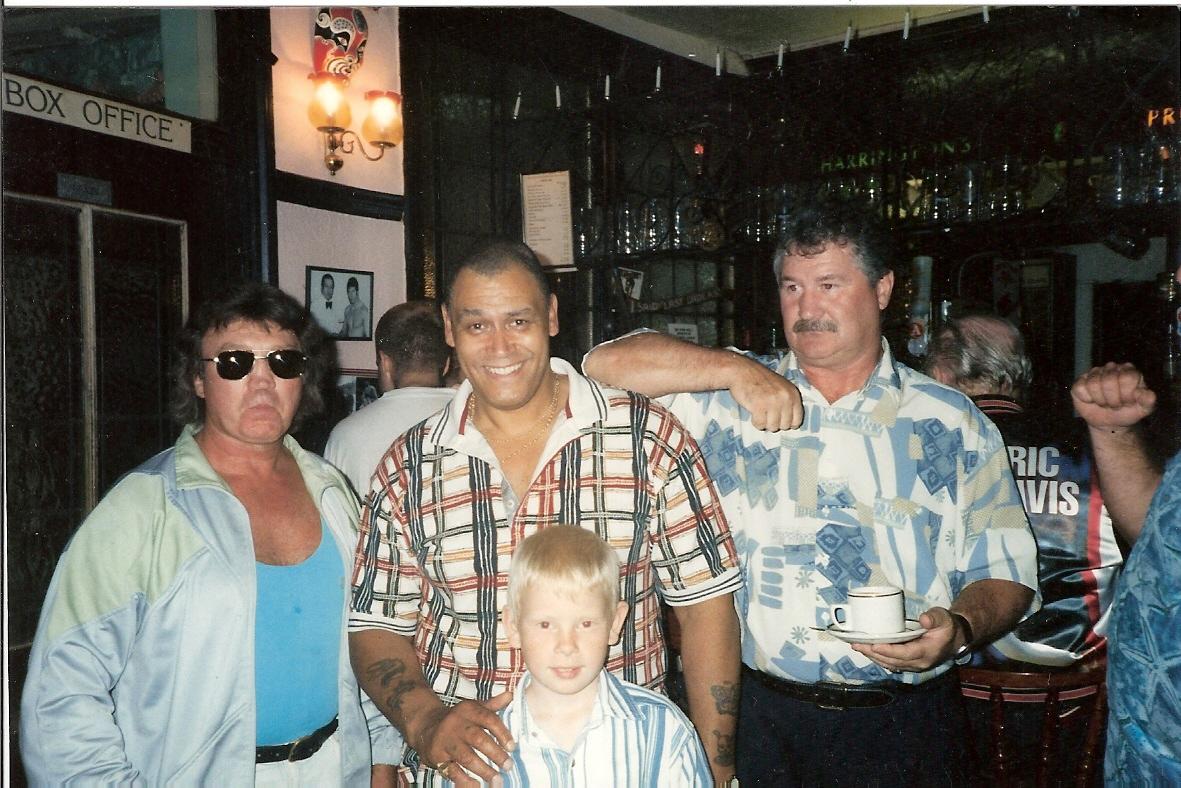 Brian maxine, Johnny Kincaid and John Kenny