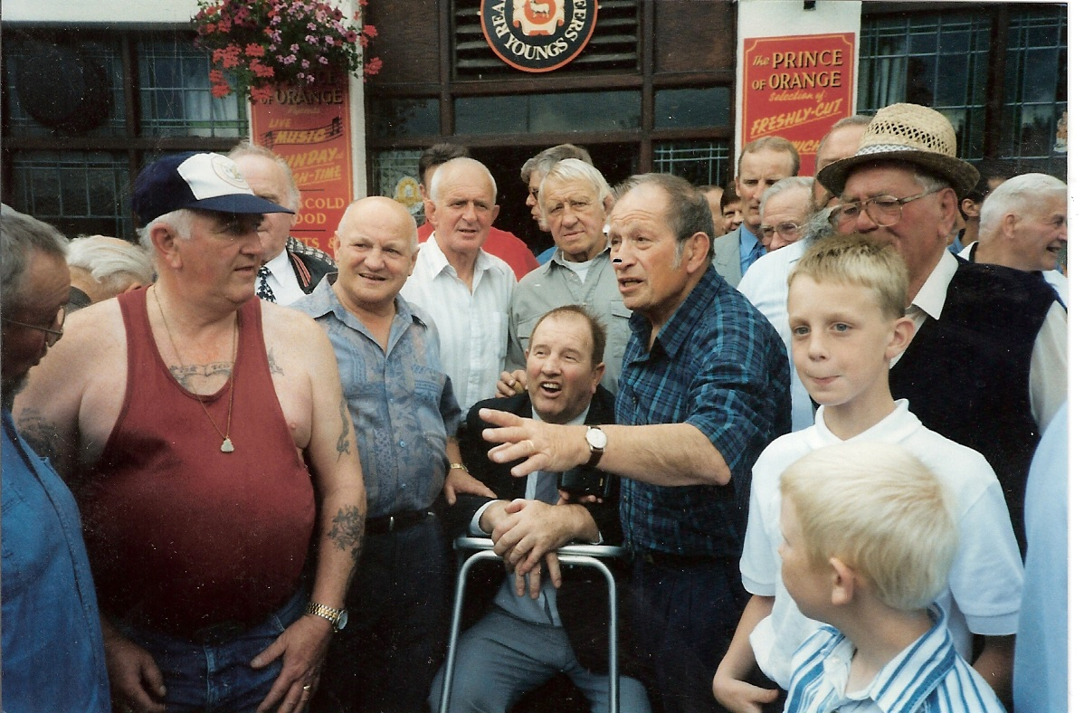 Eddie Stratton, Tony Scarlo, Tiger Jimmy Ryan, Hans Streiger, Joe D'Orazio