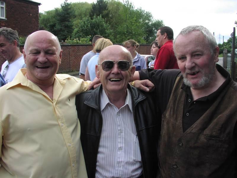 Tony Scarlo, Chic Linton and Billy Stock
