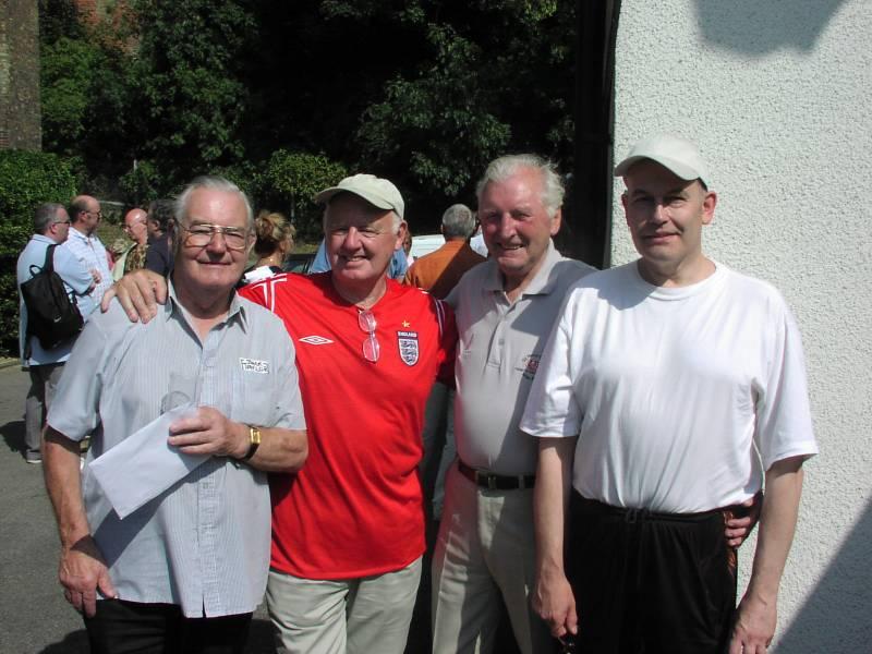Jack Taylor, Chris Owen, Al Marquette
