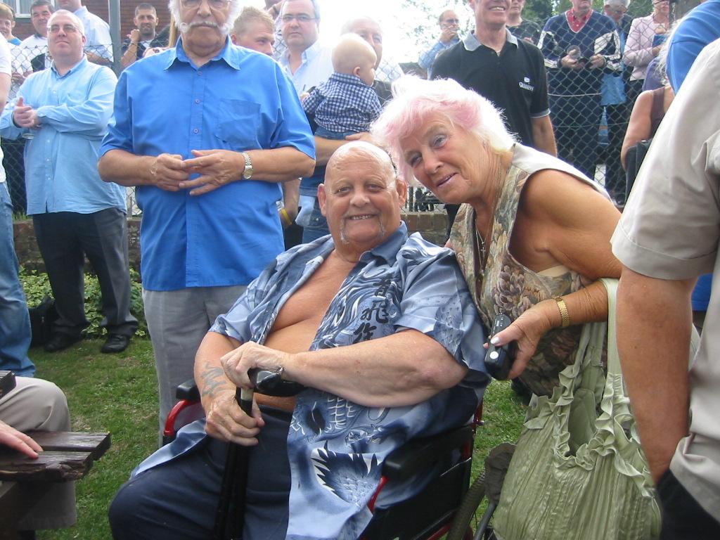 Danny Lynch and Jean O Sullivan