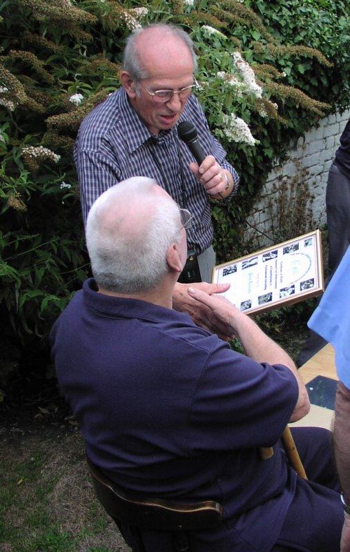Joe D'Orazio and Paul Lincoln