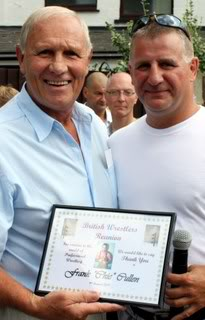 Steve Veidor and Frank 'Chic' Cullen