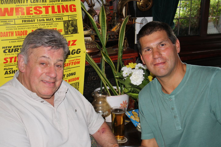 Wayne Bridges and Johnny Kidd