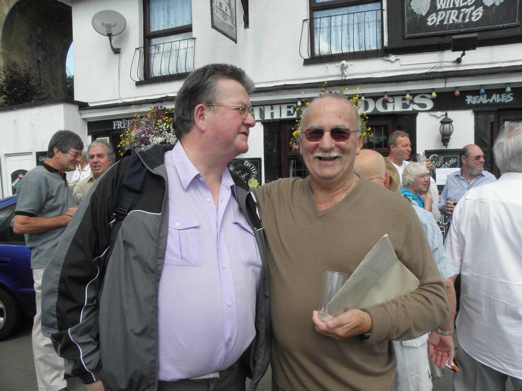 Ray Plunkett and Bob Kirkwood