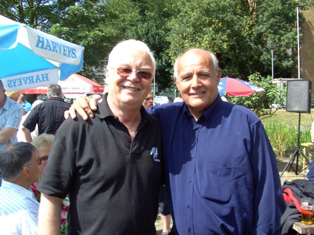 Jim Howard and Jackie Turpin