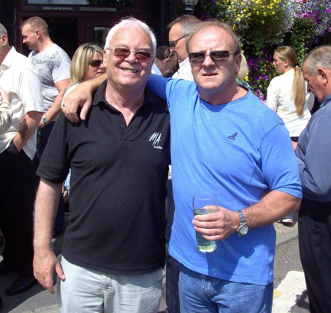 Jim Howard and Mal Sanders