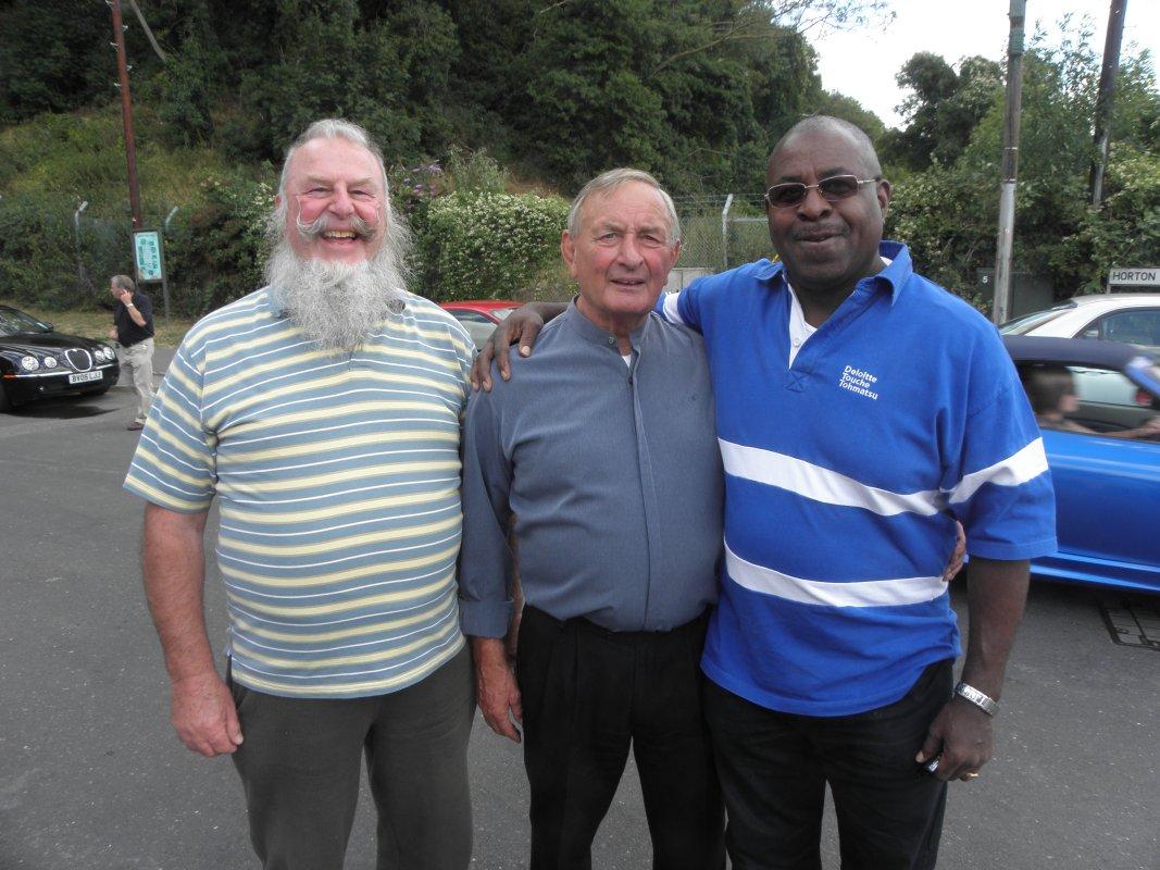 Jock Cameron, John Hall, Dave Bond