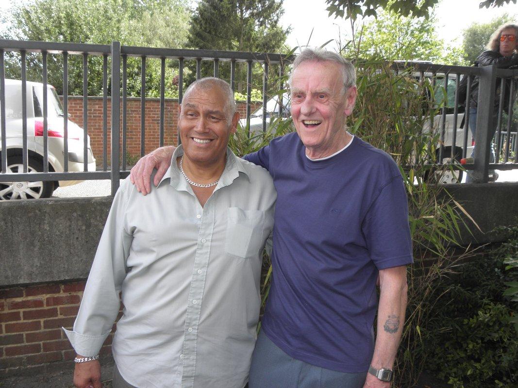 Johnny Kincaid and second Al Saxon
