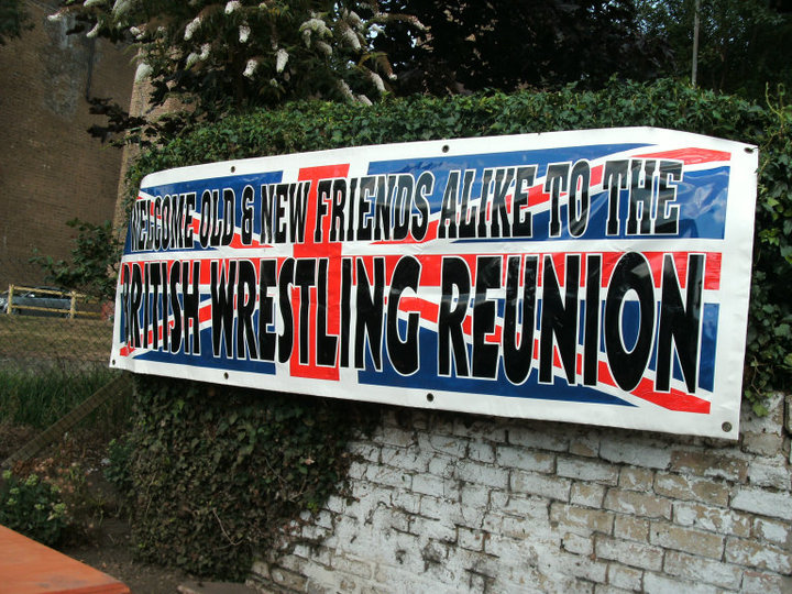 Reunion welcome banner