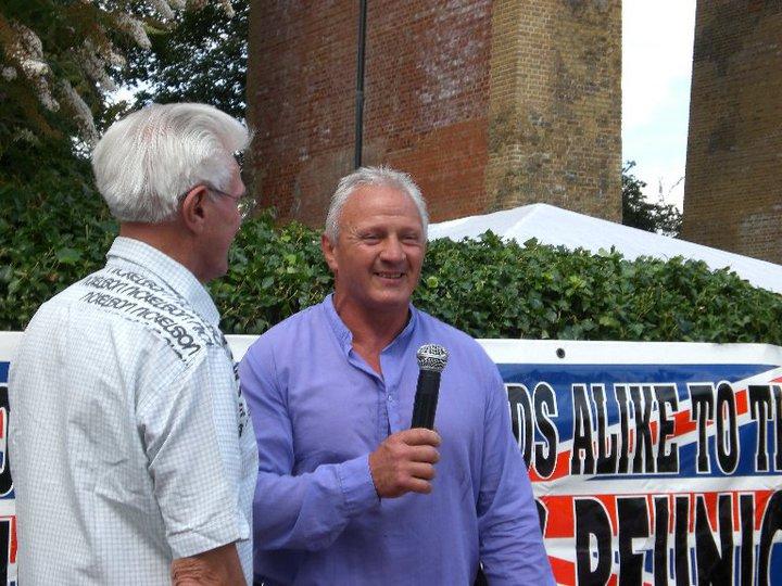 Keith Haward and Bobby Stafford