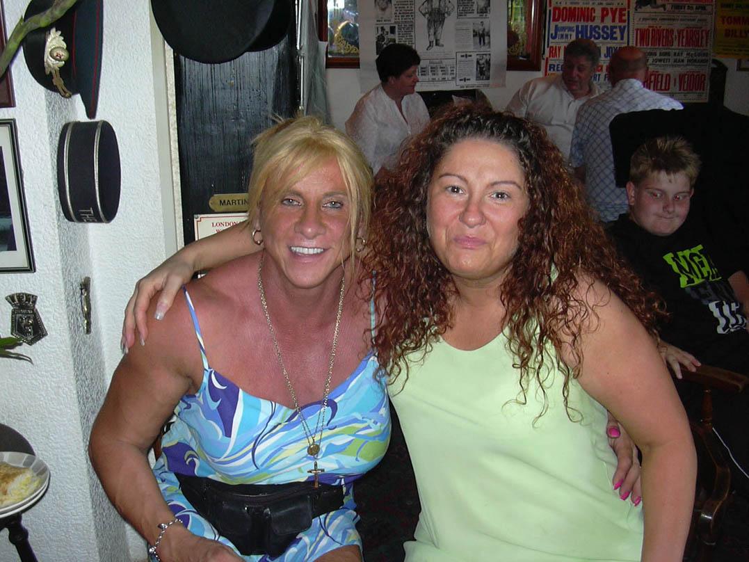 Sarah Bridges and pal