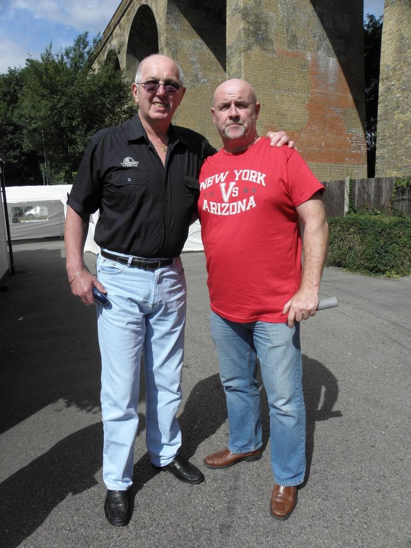 Tony St. Clair and Keith Myatt