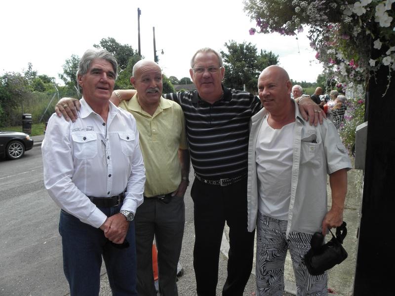 Mark Rocco, Jackie Turpin, Tony Walsh, Johnny England