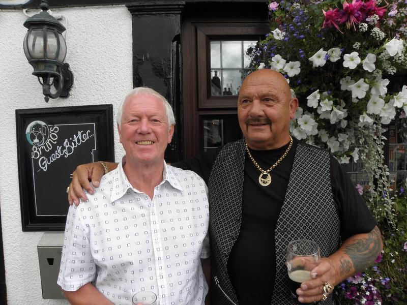 Bobby England and Karl Heinz