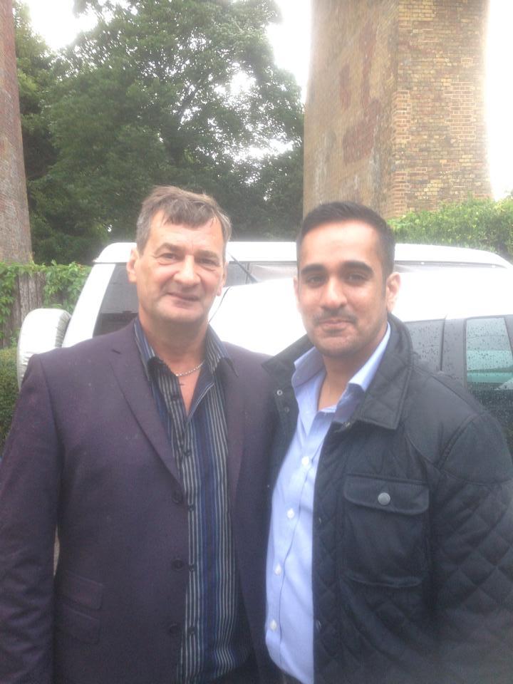 Jon Ritchie and Sanjay Bagga