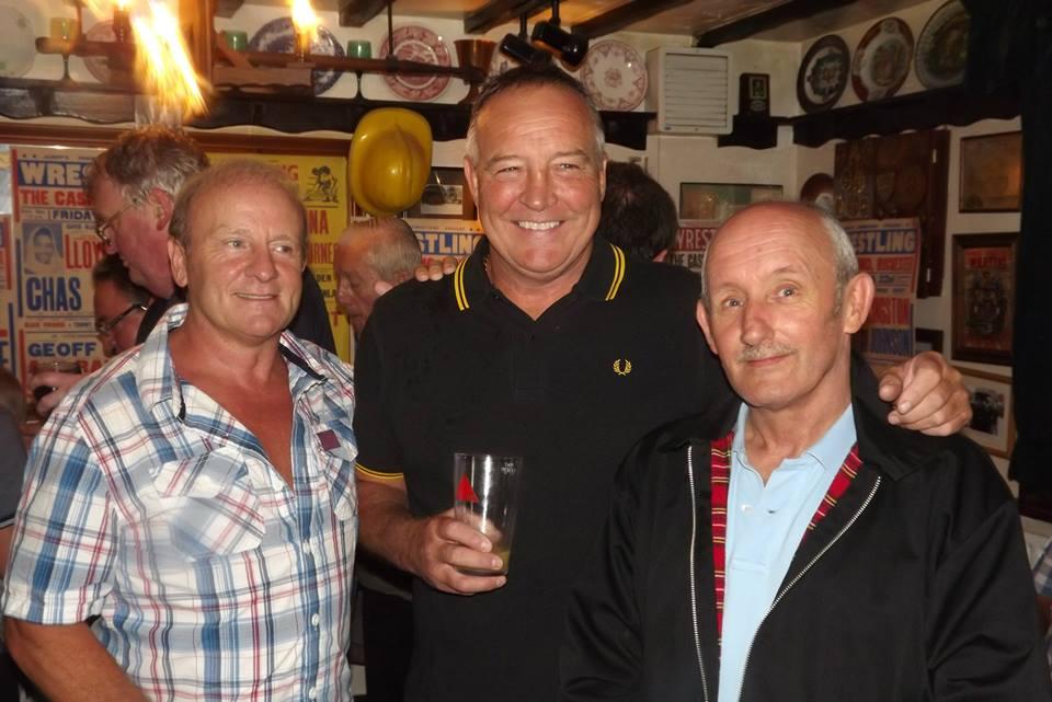 Mal Sanders, Tom Tyrone, Tommy Stewart(Nigel Hanmore)