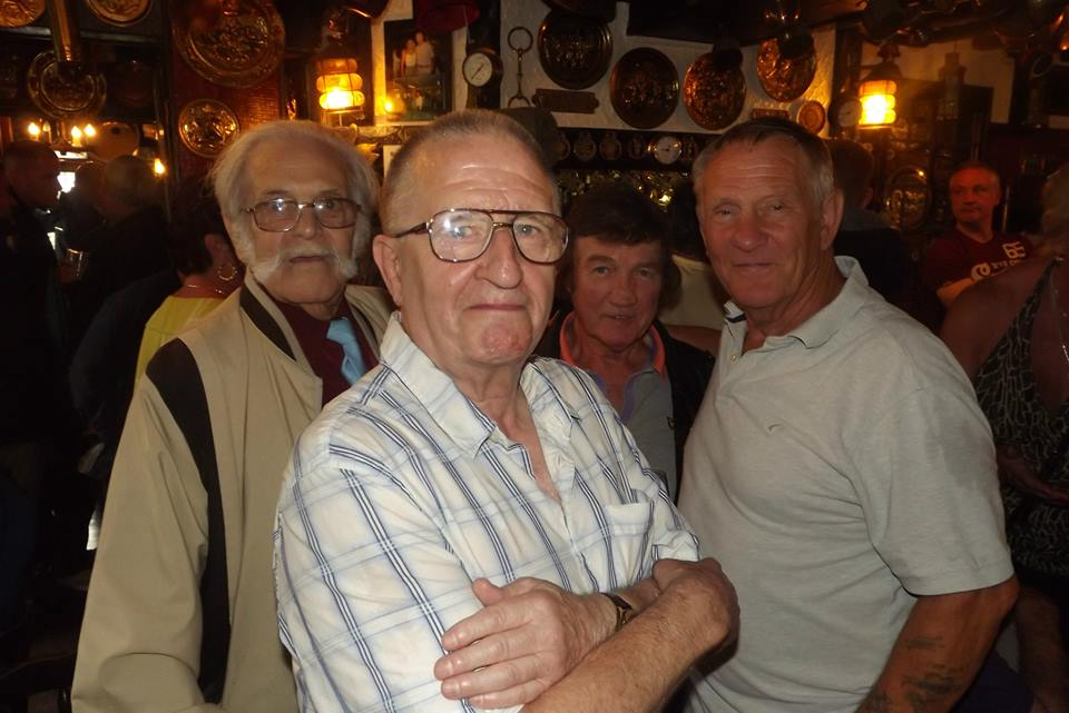 Charlie Cornish, Sid Cooper, Brian Maxine, Frank Rimer