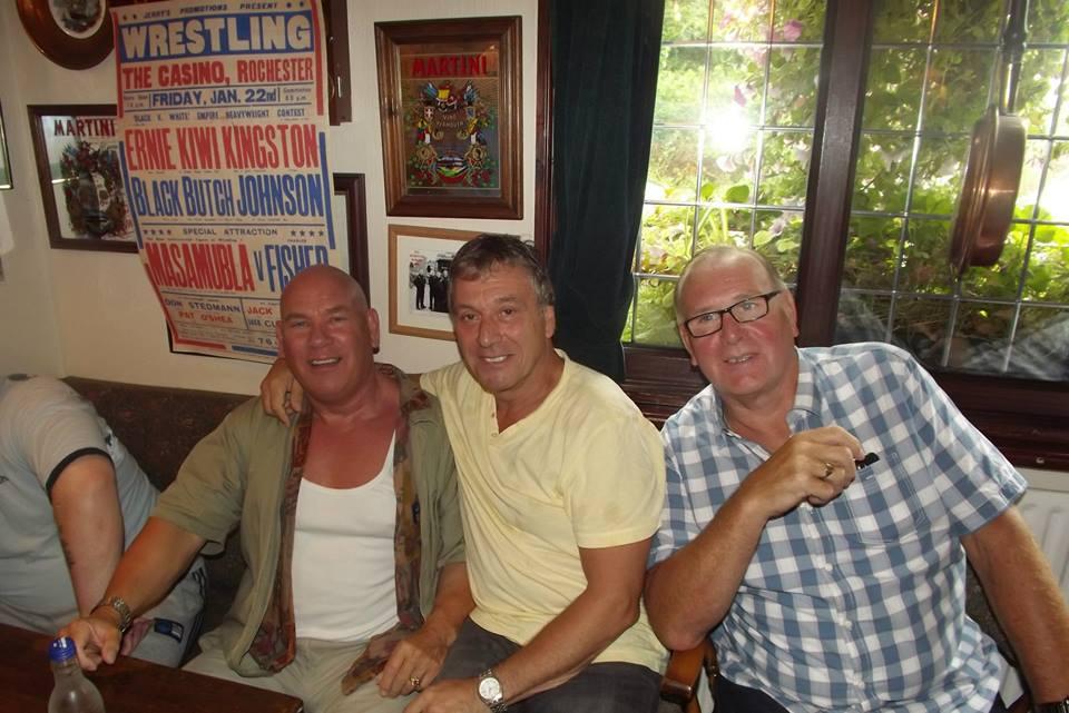 Johnny Muscles England, Steve Grey, Marty Jones