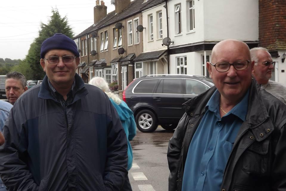 Lee Bronson and Mel Stuart