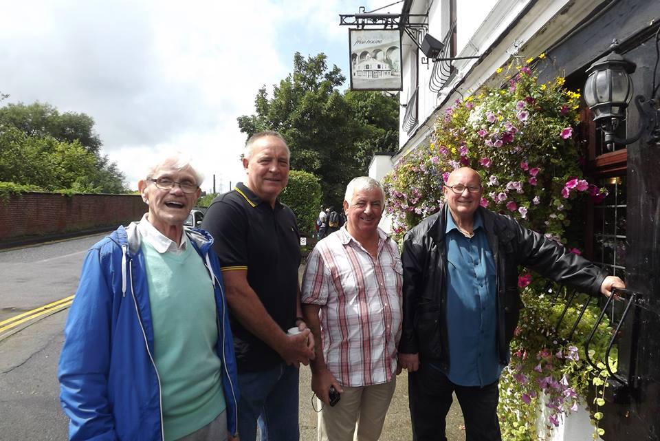Bobby Stafford, Tom Tyrone, Tony White,Mel Stuart