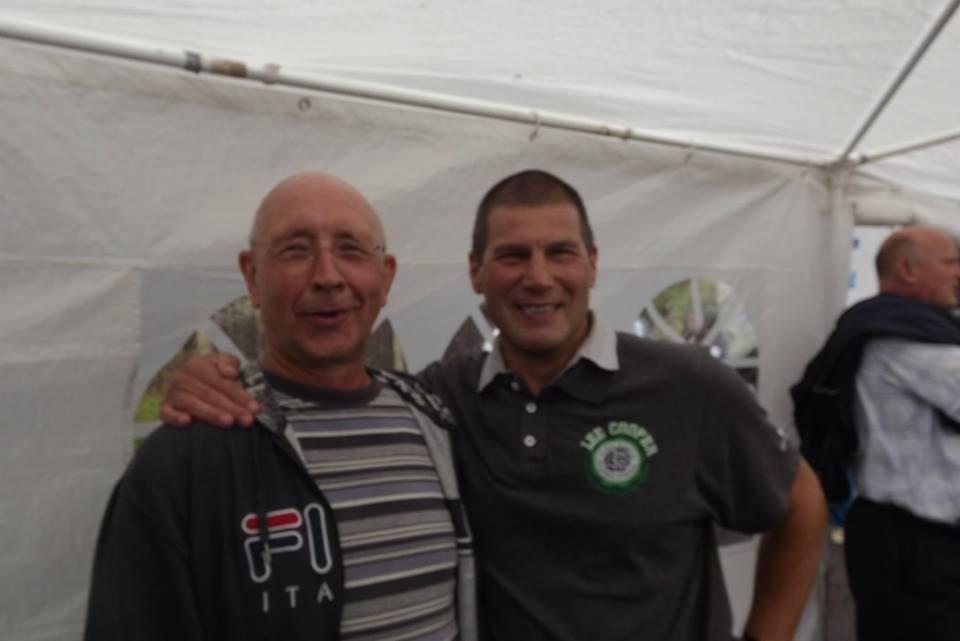 David Franklin (fan) and Johnny Kidd