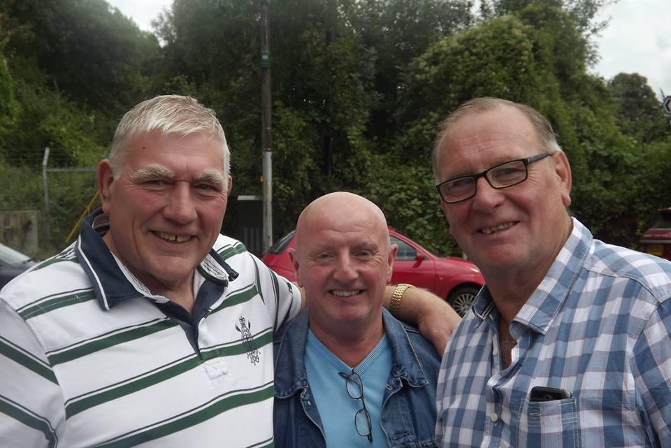 John Cox, Nipper Riley, Marty Jones