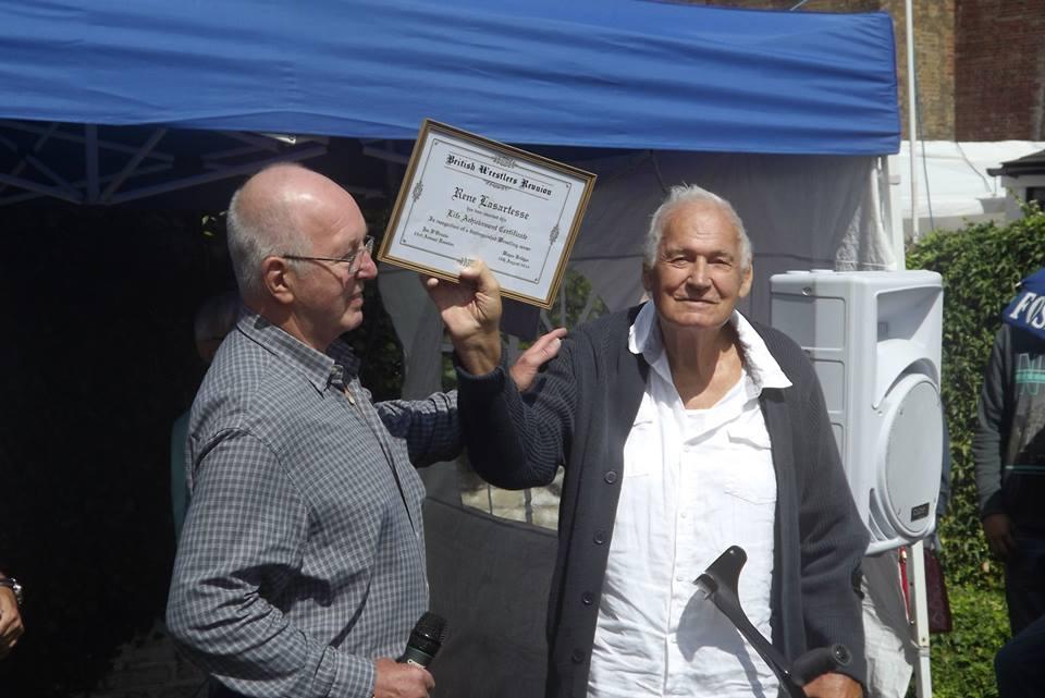 Rene Lasartesse and Tony St Clair