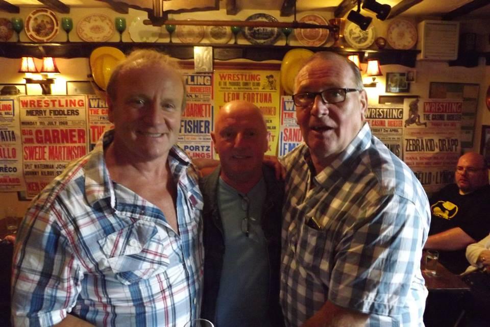 Mal Sanders, Nipper Eddie Riley and Marty Jones