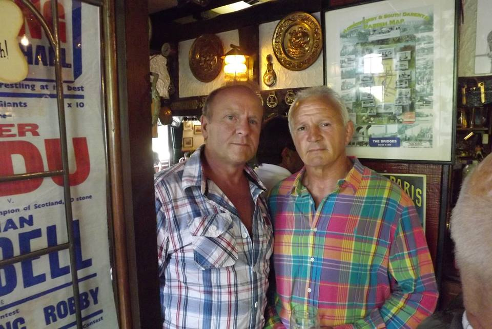 Mal Sanders and Hurricane Keith Haward