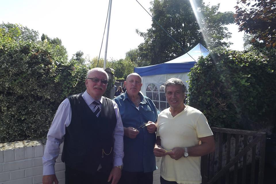 Gary Wensor, Mel Stuart, Steve Grey