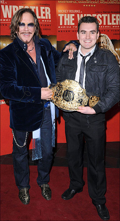 Micky Rourke and Yorghos