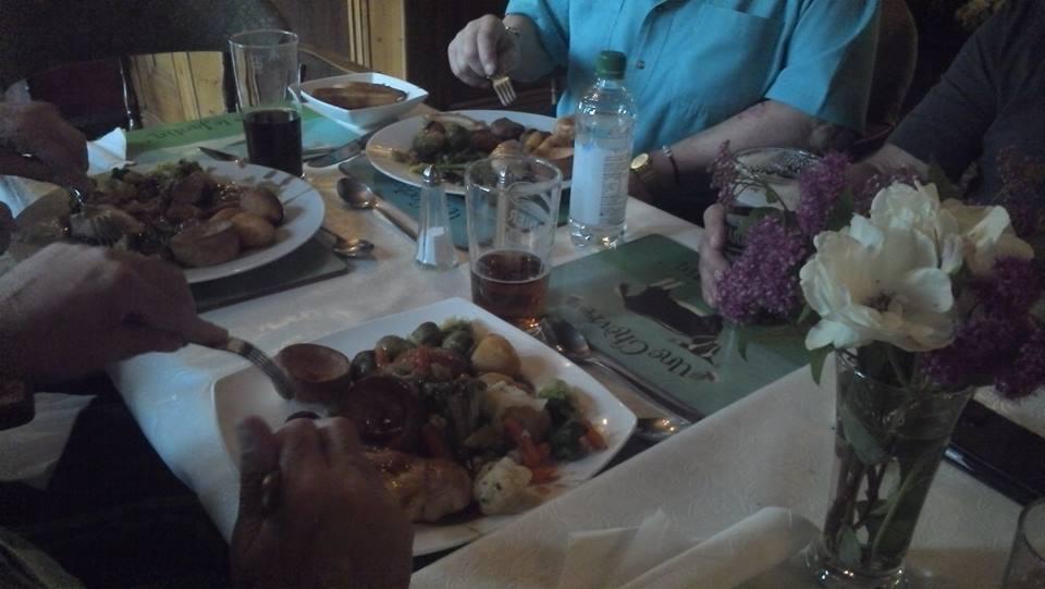 A lovely roast dinner for all