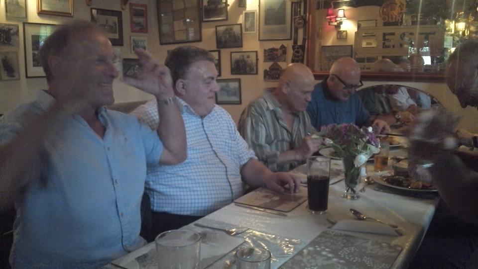 Mal Sanders, Chris Buckwell, Ian Muir & Lee Bronson