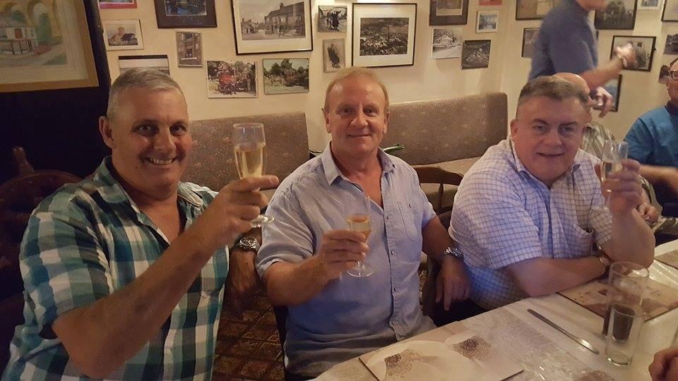 Barry Howard, Mal Sanders & Chris Buckwell