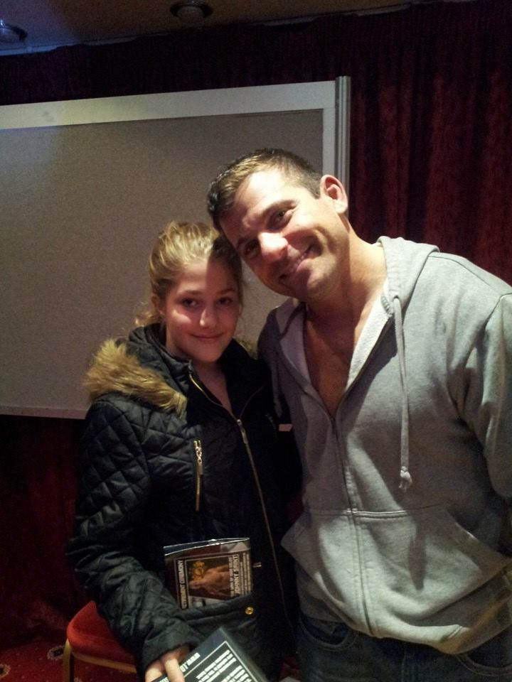Summer Yearsley meets WWE Matt Striker