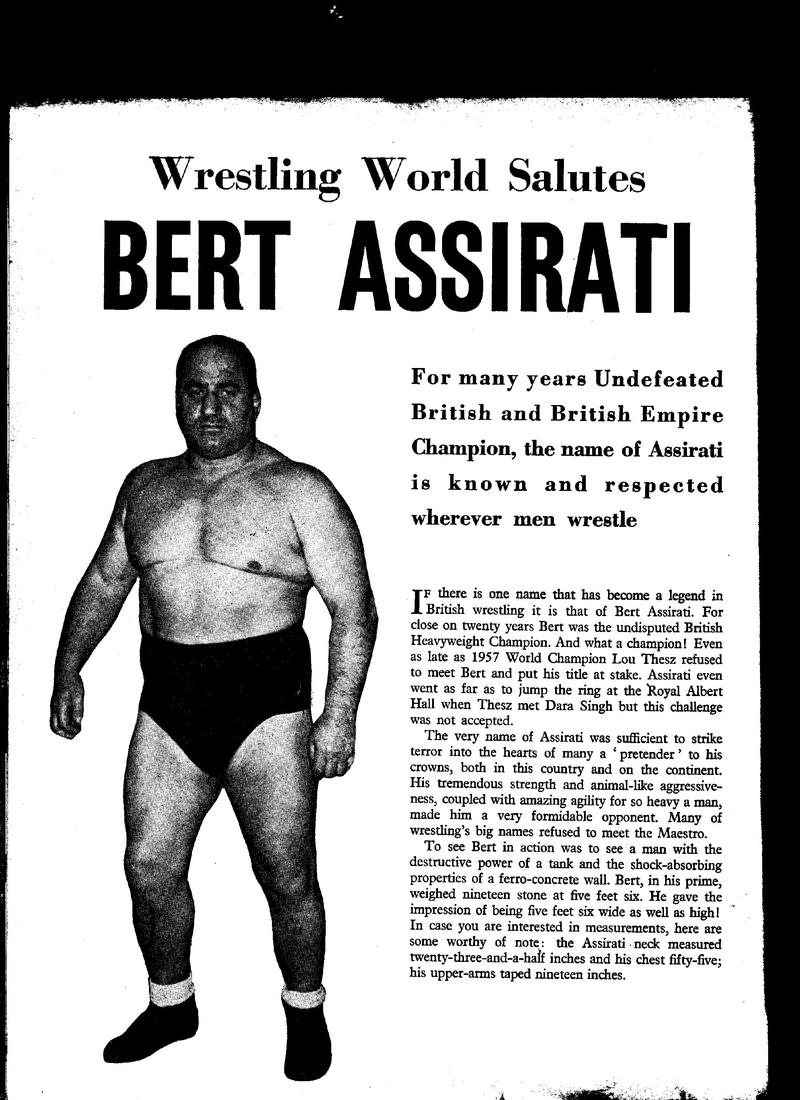 Bert Assirati 1