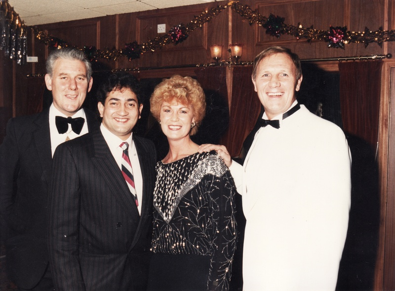 Rik Sands, Jenny and Steve Veidor