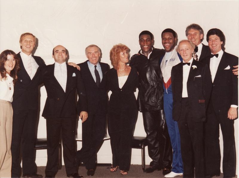 Jenny and Steve Veidor, Frank Bruno, Gary Mason, Rik Sands